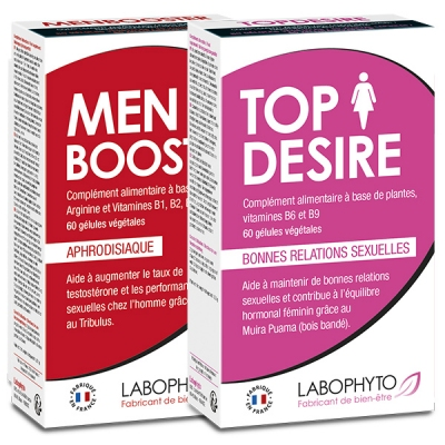 Libido - Pack Booster de libido en couple