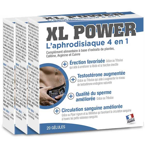 Pack promotionnel XL Power (gélules)