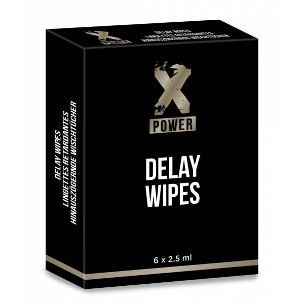 Delay Wipes (6 lingettes)