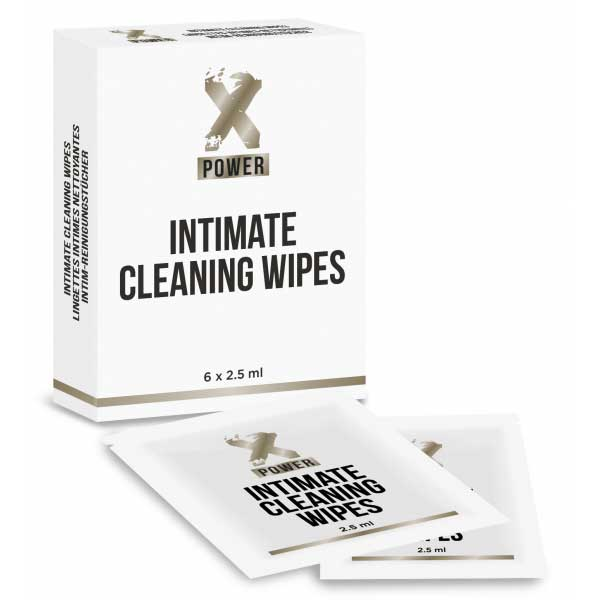 Intimate Cleaning Wipes (6 lingettes)